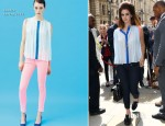 Lana Del Rey In Sandro - Out In London