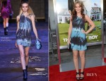 Leighton Meester In Versus - 'That's My Boy' LA Premiere