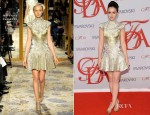 Lily Collins in Marchesa – 2012 CFDA Fashion Awards