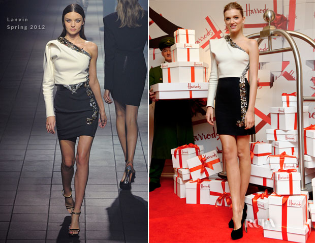 Lily Donaldson In Lanvin - Harrods Summer Sale Launch
