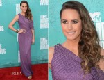 Louise Roe In David Meister - 2012 MTV Movie Awards