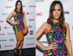 Louise Roe In Manish Arora - NYLON Magazine June/July Music Issue Launch Party