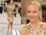 Malin Akerman In Marchesa - 'Rock Of Ages' London Premiere