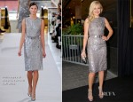 Malin Akerman In Philosophy di Alberta Ferretti - 'Rock Of Ages' Stockholm Premiere