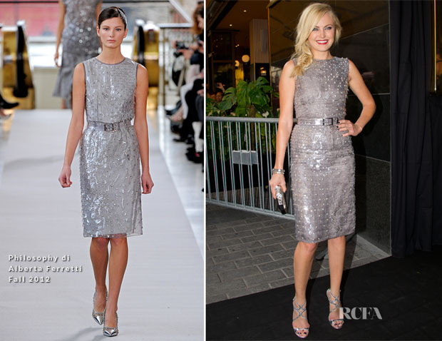 e890b941ae0 Malin Akerman In Philosophy di Alberta Ferretti -  Rock Of Ages ...