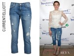 Mandy Moore's Current/Elliott Skinny Boy Jeans