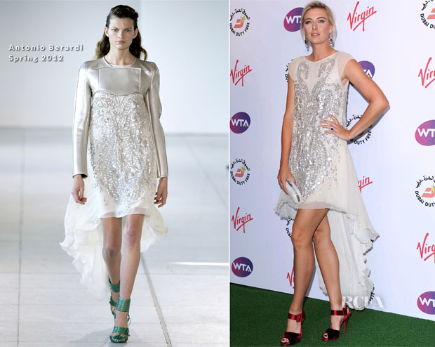 Maria Sharapova In Antonio Berardi – Pre-Wimbledon Party