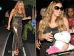 Mariah Carey In Haider Ackermann - Prince Haji Abdul Azim of Brunei 30th Birthday Party