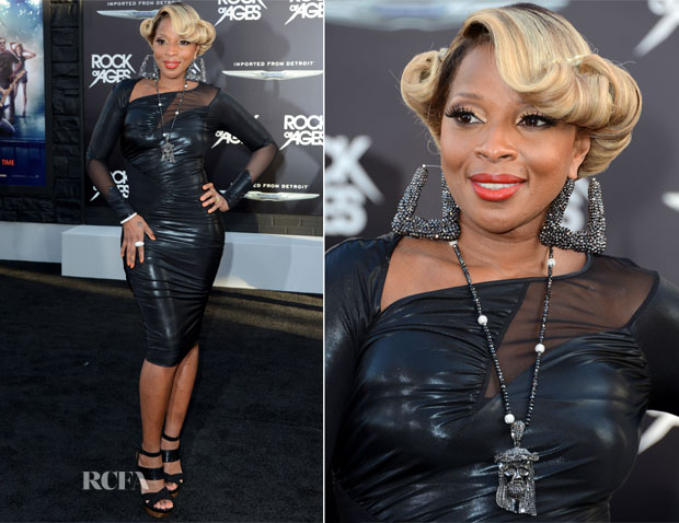 Mary J Blige - 'Rock Of Ages' LA Premiere