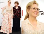 Meryl Streep In Valentino Couture - 40th AFI Life Achievement Award Honoring Shirley MacLaine