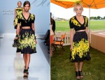 Mia Moretti In Blumarine - 5th Annual Veuve Clicquot Polo Classic