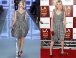 Michelle Pfeiffer In Christian Dior - 'People Like Us' LA Film Festival Premiere