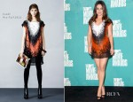Mila Kunis In Fendi - 2012 MTV Movie Awards