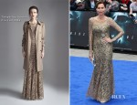 Minnie Driver In Temperley London - 'Prometheus' London Premiere