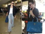Miranda Kerr In Joie - LAX Airport