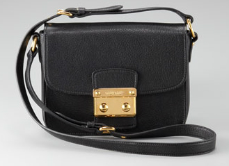 ff87509f4d8e Bergdorf Goodman is currently selling the bag in black. Credit  Courtesy of Miu  Miu