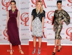 Models @ The CFDA Fashion Awards 2012