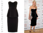 Naomi Watts' Stella McCartney Renoir Strapless Peplum Dress