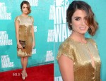 Nikki Reed In Randi Rahm - 2012 MTV Movie Awards