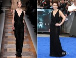Noomi Rapace In Valentino - 'Prometheus' London Premiere