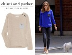 Olivia Palermo's Chinti and Parker Cashmere Sweater