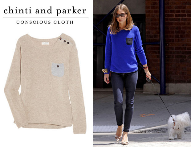 Olivia Palermo Chinti and Parker