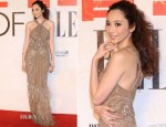 Pace Wu In Roberto Cavalli - Elle Men Anniversary Party