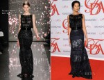 Padma Lakshmi In Naeem Khan - 2012 CFDA Fashion Awards