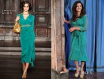 Penelope Cruz In L'Wren Scott – Late Night with Jimmy Fallon