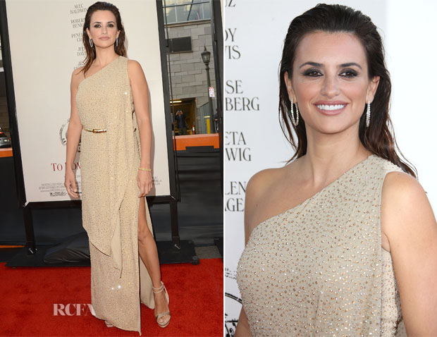 Penelope Cruz In Michael Kors - 'To Rome with Love' LA Film Festival Premiere