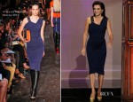 Penelope Cruz In Victoria Beckham - The Tonight Show with Jay Leno