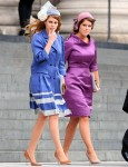 Princess Beatrice In Kinder Aggugini & Princess Eugenie In Suzannah - St. Paul's Cathedral