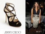 Rashida Jones' Jimmy Choo Loila Sandals