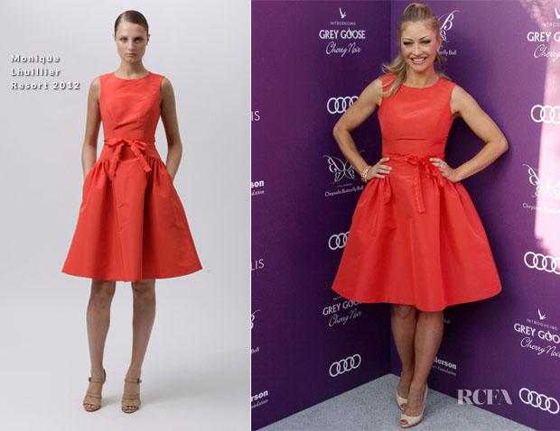 Rebecca Gayheart Red Carpet Fashion Awards