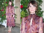 Rose Byrne In Salvatore Ferragamo - 'Marilyn' Exhibition Opening Party