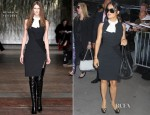 Salma Hayek In Altuzarra - Good Morning America