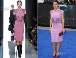Salma Hayek In Bottega Veneta – 'Prometheus' London Premiere