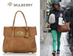 Sara Cox's Mulberry Bayswater Leather Bag