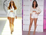 Selena Gomez In Versace - Fragrance Launch