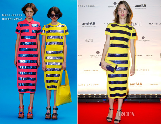 Sofia Coppola In Marc Jacobs - amfAR Inspiration Night Paris