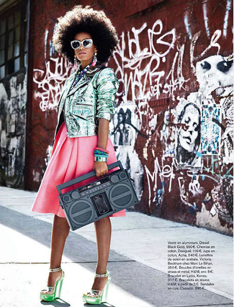 Solange Knowles for Glamour France July 2012