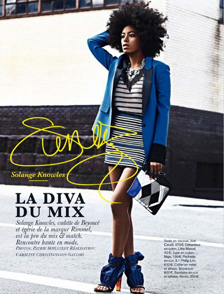 Solange Knowles Glamour France