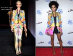 Solange Knowles In Roberto Cavalli - 'See What Unfolds' Live Performance