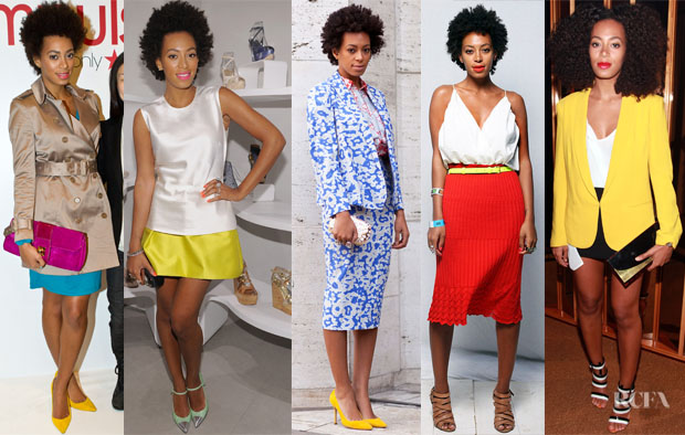 Solange Knowles Loves Yellow 2