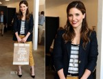 Sophia Bush In Stella McCartney, Apolis & Enza Costa - Defend Tomorrow Campaign Launch