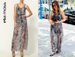 Sophia Bush's Ella Moss Stained Glass Maxi Dress