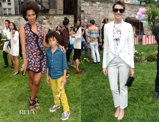Stella McCartney Resort 2013 Presentation Celebs