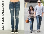 Vanessa Hudgens' Current/Elliott The Skinny Jeans