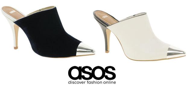 Whitney's Asos mules