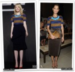 Who Wore Burberry Prorsum Better? Emma Stone or Giorgia Surina
